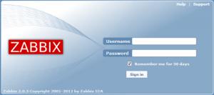 お客様はZabbix監視画面を直接ご確認いただく事が可能です。
