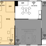 無線ネットワークと複数センサー設置によるデータ可視化