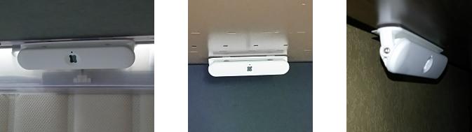 在席検知センサの設置写真